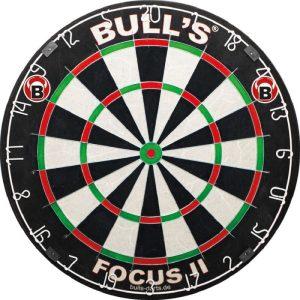 Focus 2 dartbord van Bull's Germany Darts