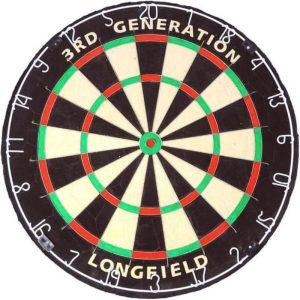 3RD Generation dartbord van Longfield Darts