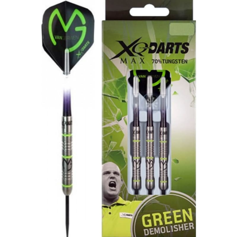 MVG Green Demolisher dartpijlen van XQ-Max Darts