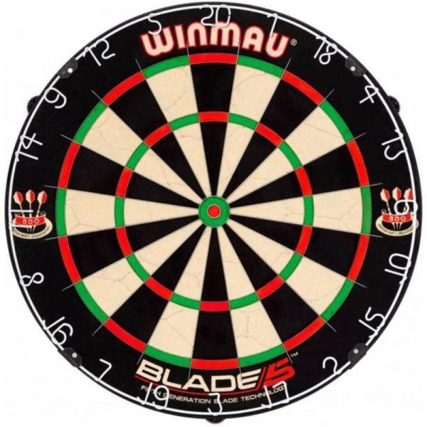 Blade 5 dartbord van Winmau Darts