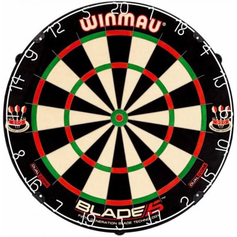 Blade 5 dual core dartbord van Winmau Darts