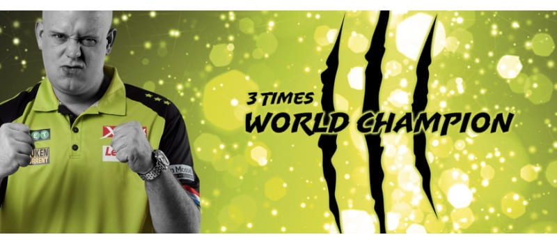 MVG 3-voudig wereldkampioen darts