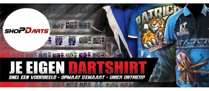 Dartshirt laten ontwerpen door Shopdarts