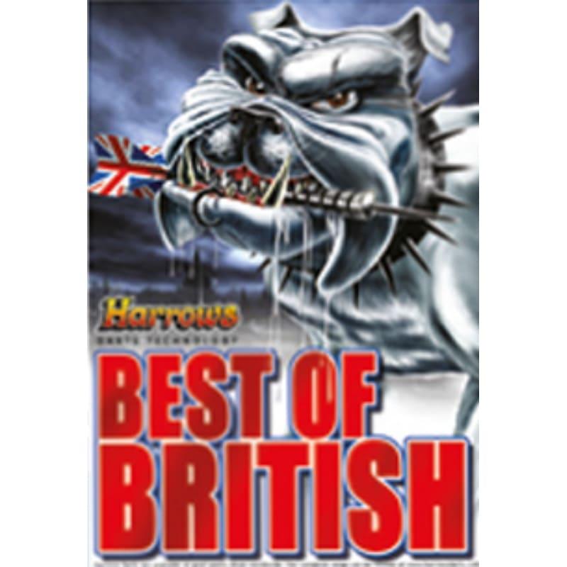 Harrows Darts poster British
